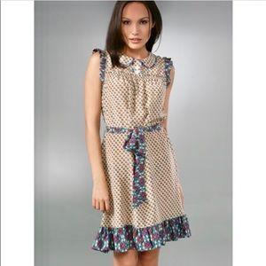 Marc Jacobs Silk Cloud Flower Dress